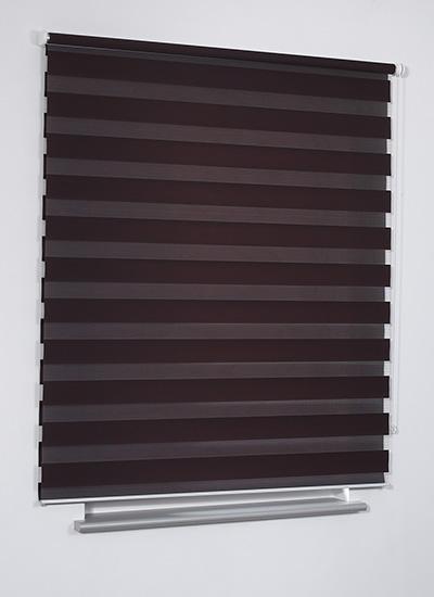 neu doppelrollo nach auf ma duorollo jalousie rollo wand decke montage streifen ebay. Black Bedroom Furniture Sets. Home Design Ideas